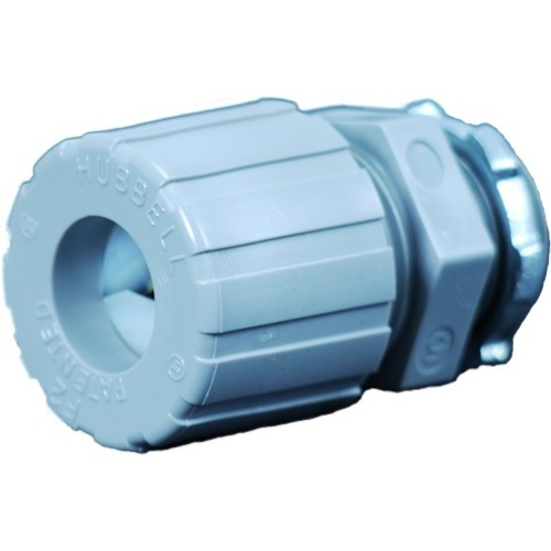 Strain relief connector with