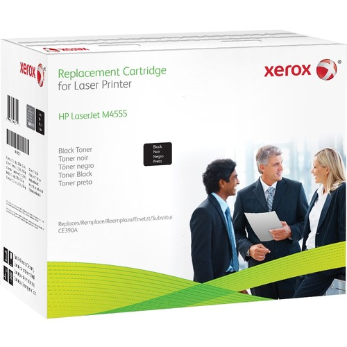 Xerox Toner Cartridge | Replacement for HP (CE390A) | Black