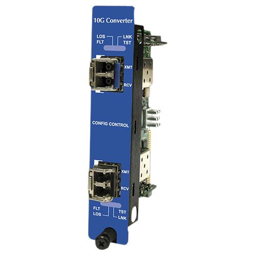 B&B iMcV-10G-Converter, SFP+/ SFP+ (Requires 2 SFP Modules)