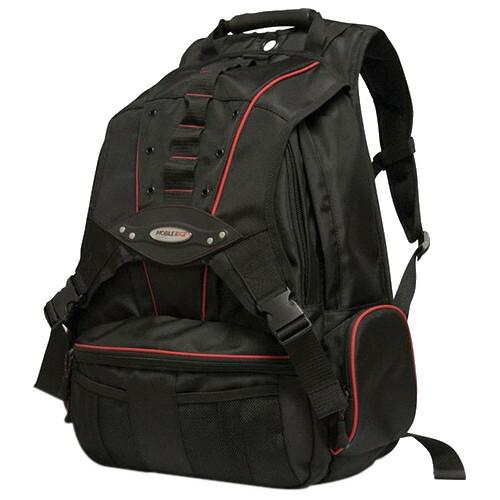 "Mobile Edge - Premium Backpack - 17.3""/17"" Mac - Black/Red Trim"