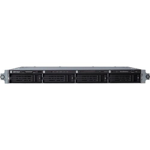 Buffalo TeraStation TS3400R0404 4 x Total Bays NAS Server - 1U - Rack-mountable