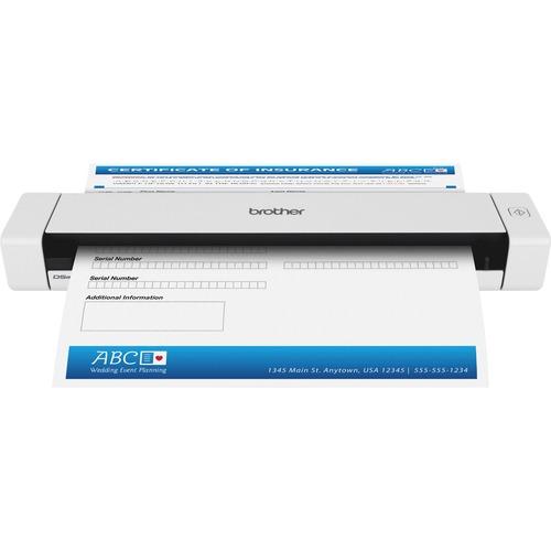 Mobile Duplex Color Page Scanner. Desktop - Up to 8ppm - Contact Image Sensor (CIS) - USB 2.0 - Color.