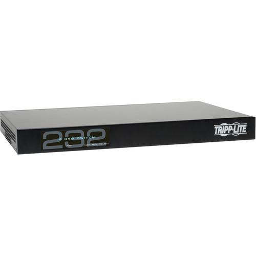 Tripp Lite 32-Port Cat5 IP KVM Switch 1 Local 2 Remote User 1URM Rackmount