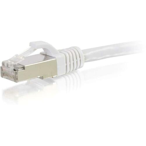 10ft Cat6 Snagless Shielded (STP) Network Patch Cable | White