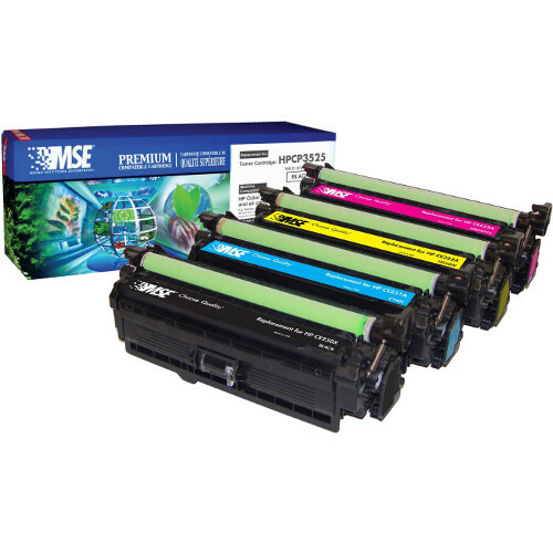 MSE Remanufactured Toner Cartridge - Alternative for HP (CE251A) - Cyan