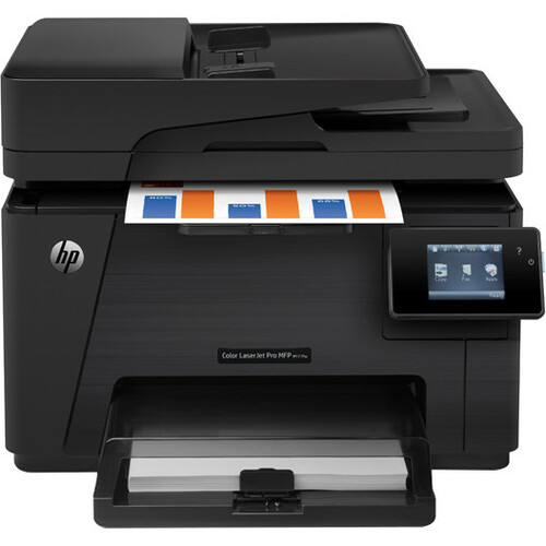 HP LaserJet Pro M177FW Laser Multifunction Printer - Color - Plain Paper Print - Desktop