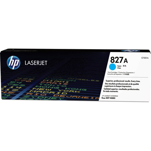 HP 827A Toner Cartridge - Cyan