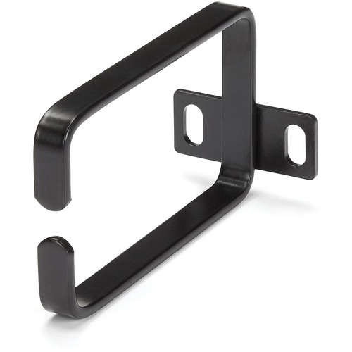 Add a cable management hook to your server rack or cabinet for strain relief and
