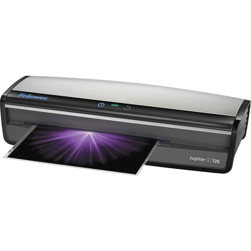 """Fellowes Jupiter2 125 Laminator & Pouch Starter Kit - Pouch10 mil Lamination Thickness - 5.06"""" (128.52 mm) x 21.25"""" (539.75 mm) x 8.19"""" (208.03 mm)"""