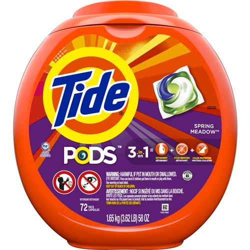Tide Pods Laundry Detergent - Spring Meadow Scent - Blue