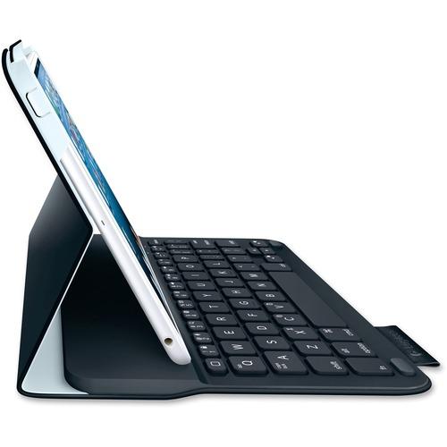 Logitech Ultrathin Keyboard/Cover Case (Folio) for iPad mini | Gray