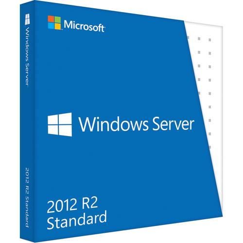 Lenovo Microsoft Windows Server R.2 Standard | License and Media | 2 CPU, 2 Virtual Machine
