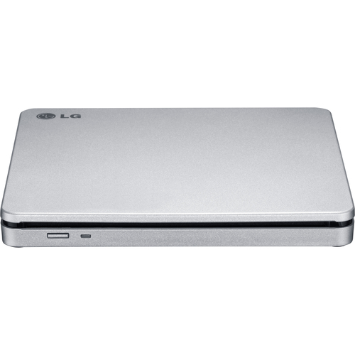 LG Storage GP70NS50 External Slim DVDRW 8X Silver Slot-in USB Cyberlink Retail