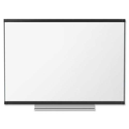 "Quartet Display Board - 48"" (1219.20 mm) Height x 72"" (1828.80 mm) Width - Graphite Surface - 1 Each"