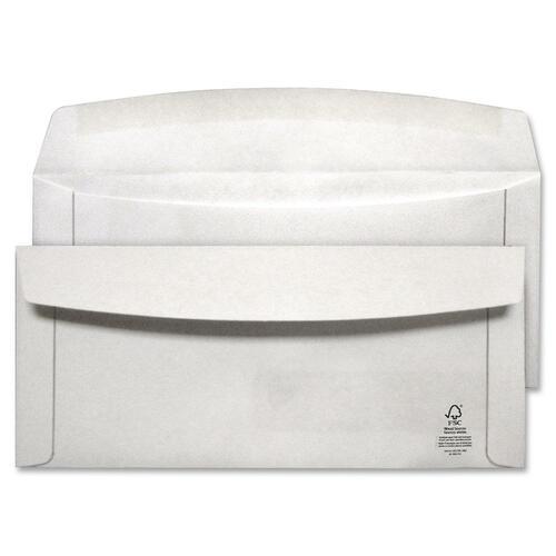 """Supremex Envelope - #10 - 9 1/2"""" Width x 4 1/8"""" Length - Flap - Wove - 500 / Box - White"""