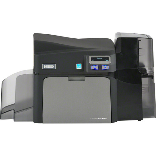 Fargo DTC4250e Dye Sublimation/Thermal Transfer Printer | Color | Desktop | Card Print