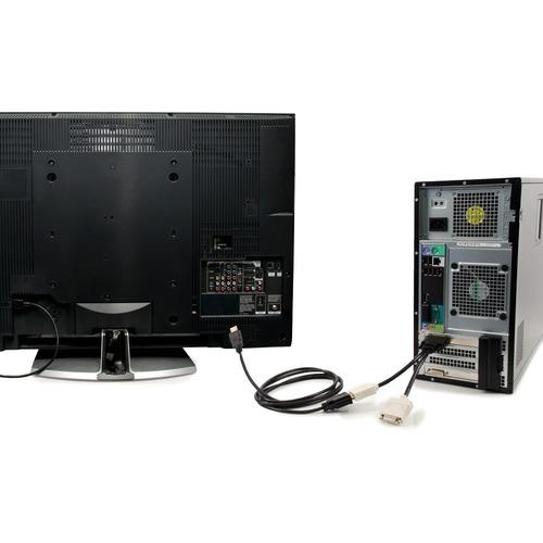 C2G 6FT HDMI TO DVI-D SINGLE LINK MALE CBL