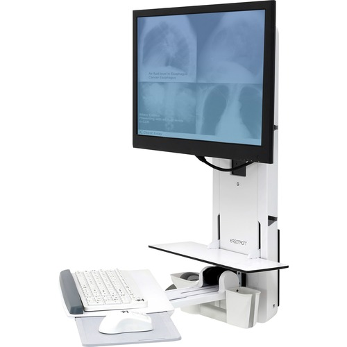 Ergotron StyleView Lift for Monitor, Keyboard, Mouse, Scanner