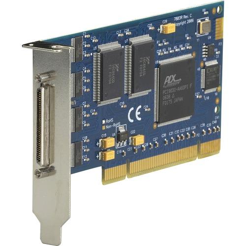 Black Box RS-232 PCI Card, 8-Port, Low Profile, 16854 UART