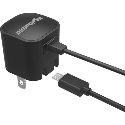 DigiPower Wall Charger With Micro USB Cable IP-AC1M-T