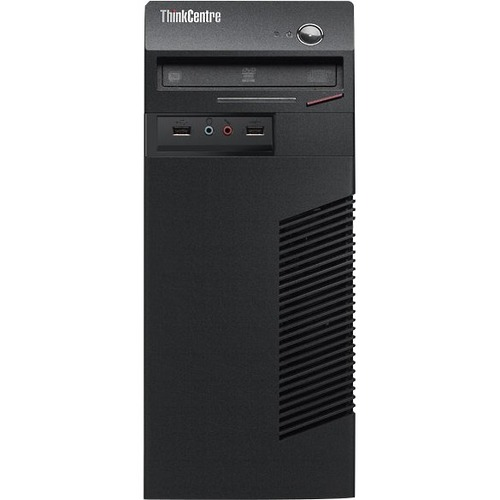 Lenovo ThinkCentre M73 10B0000NUS Desktop Computer - Intel Pentium G3220 3 GHz - Mini-tower - Business Black