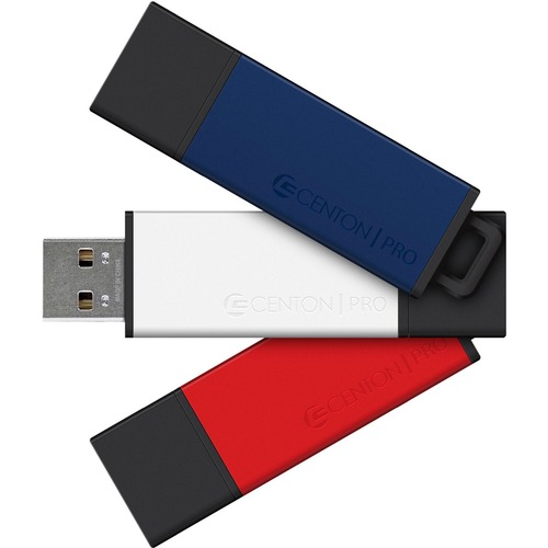 Centon MP ValuePack USB 2.0 Pro 2 (Multi-Color), 8GB x 3