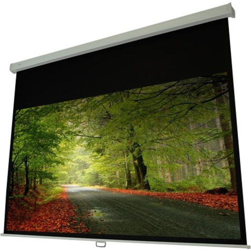 """EluneVision Atlas Manual Projection Screen   120""""   4:3   Wall/Ceiling Mount"""