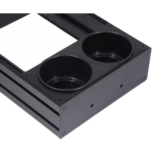 CONSOLE, ACCESSORY, CUP HOLDER, INTERNAL MOUNT, 4INT MOUNTING SPACE, DUAL