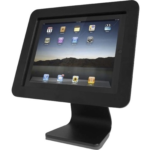 All in One- iPad Rotating and Swiveling Stand Black