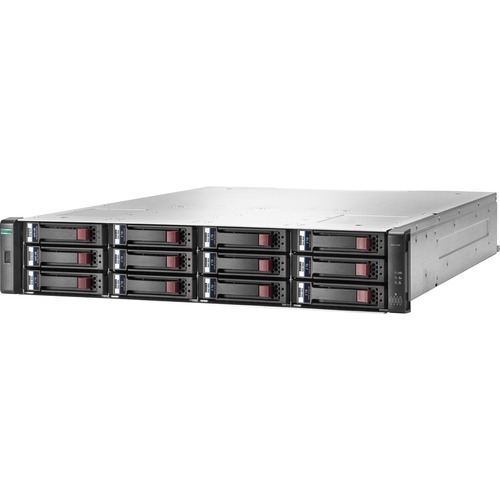 HP 1040 SAN Array - 12 x HDD Supported - 48 TB Supported HDD Capacity