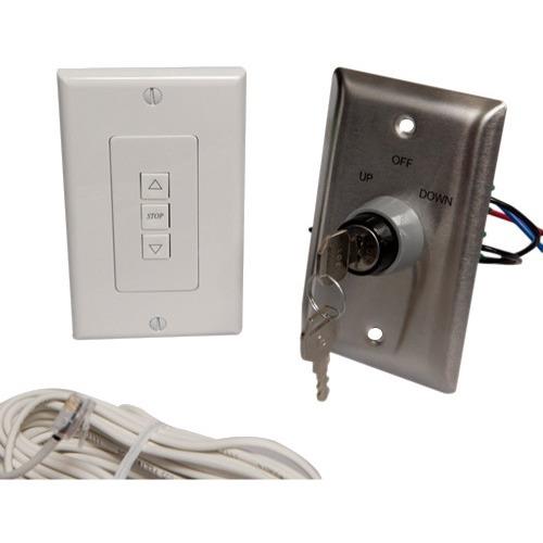 Draper ILT Single Station Low Voltage Key Wall Switch