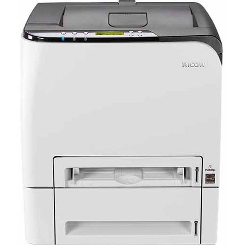 Ricoh SP C252DN Laser Printer - Color - 2400 x 600 dpi Print - Plain Paper Print - Desktop