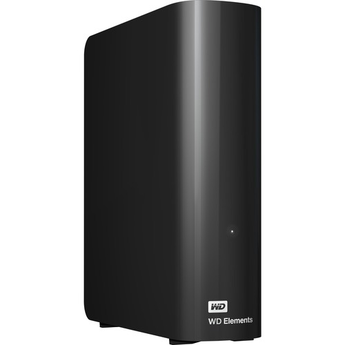 WD Elements WDBWLG0040HBK-EESN 4 TB External Hard Drive - USB 3.0 - Desktop