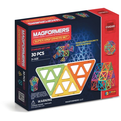 Magformers Skill Development Toy - Skill Learning: Building, Construction, Creativity, Mental Activity - 6 Year & Up - 30 Pieces