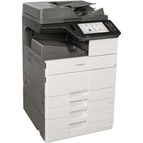 MX911dte - Multifunction - Monochrome - Laser - Copying, Faxing, Network Scannin