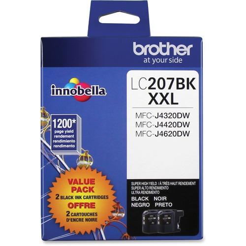 Brother Innobella LC2072PKS Ink Cartridge | Black