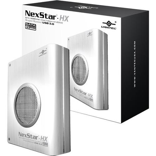 Vantec NexStar HX NST-386S3-SV Drive Enclosure External - Silver