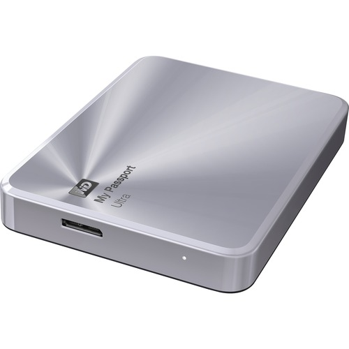 WESTERN DIGITAL - RETAIL DRIVES 2TB MY PASSPORT ULTRA METAL EDT USB 3.0 PORTABLE HARD DRIVE SILVER