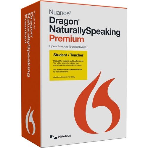 NUANCE ENG DRAGON NATURALLYSPEAKING PREM 13.0 US STUDENT/TEACHER