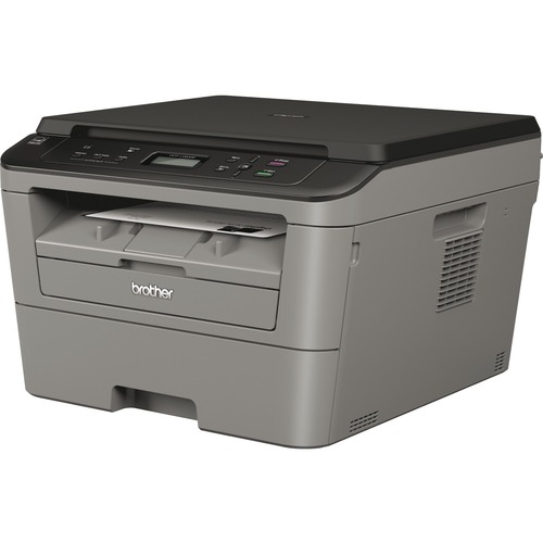 Brother DCP-L2500D Laser Multifunction Printer - Monochrome - Plain Paper Print - Desktop