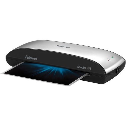 """Fellowes Spectra™ 95 Laminator with Pouch Starter Kit - Pouch - 9.50"""" (241.30 mm) Lamination Width - 5 mil Lamination Thickness - 3.06"""" (77.72 mm) x 14.56"""" (369.82 mm) x 7"""" (177.80 mm)"""