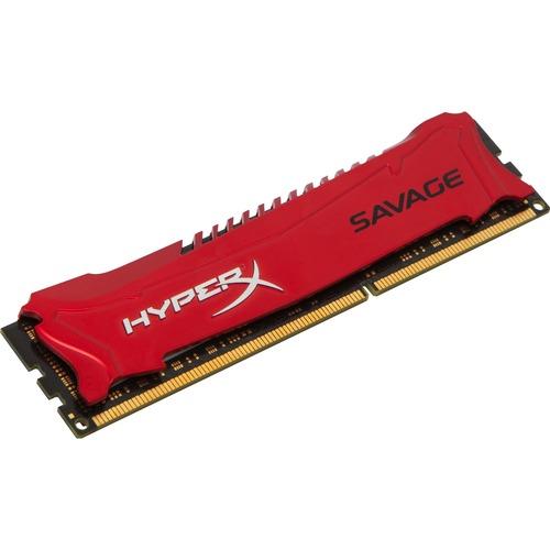 Kingston HyperX RAM Module - 4 GB - DDR3 SDRAM - 1600 MHz DDR3-1600/PC3-12800 - 1.50 V