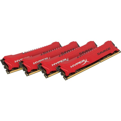 Kingston HyperX RAM Module - 32 GB 4 x 8 GB - DDR3 SDRAM - 1866 MHz DDR3-1866/PC3-14900 - 1.50V
