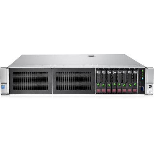 HP ProLiant DL380 G9 2U Rack Server | 1 x Intel Xeon E5-2620 v3 Hexa-core (6 Core) 2.40 GHz | 16 GB Installed DDR4 SDRAM | 12Gb/s SAS Controller | 0, 1, 5 RAID Levels | 500 W