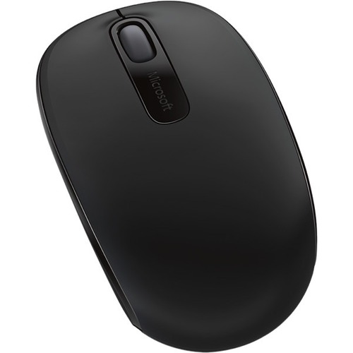 Microsoft Wireless Mobile 1850 Mouse - Optical - Wireless - 3 Buttons - Black
