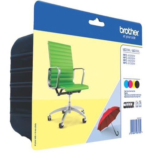Brother Ink Cartridge - Black, Cyan, Magenta, Yellow