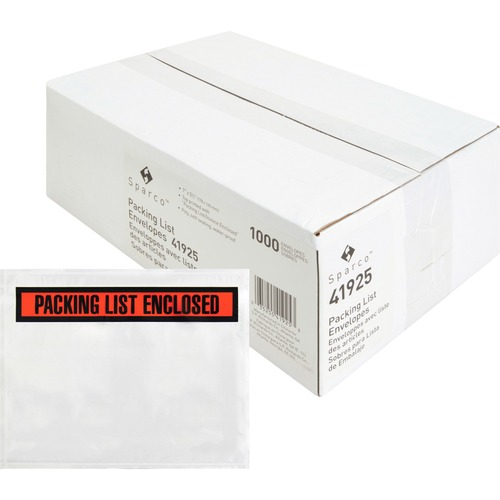 3M Packing List/Invc  Enclosed Top Print Envelopes - Packing List