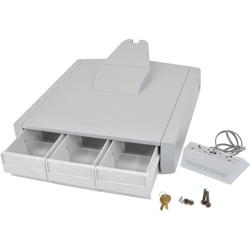 Ergotron SV43 Primary Triple Drawer for LCD Carts