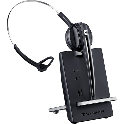 D10 Phone-Wireless DECT headset (monaural) with base station, for desk phone, co