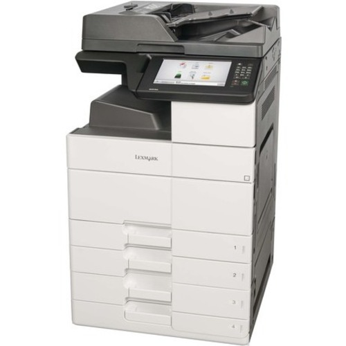 Lexmark MX911dte Laser Multifunction Printer - Monochrome - Plain Paper Print - Desktop